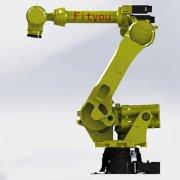 装配工业机械人的在注塑工业的应用