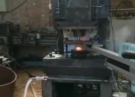 轴承套圈自动锻造机械手生产线(一)
