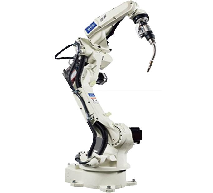 分析使用焊接机器人手臂效率